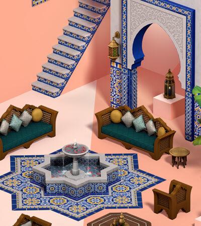 The Sims 4 Oásis no Quintal